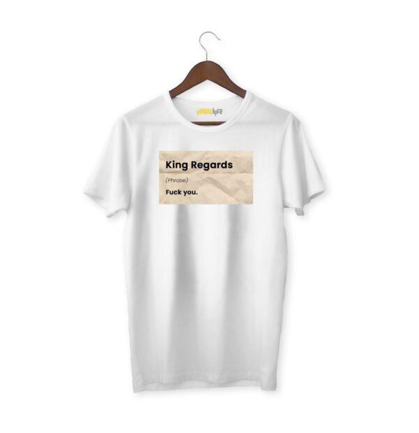 Kind Regards - White