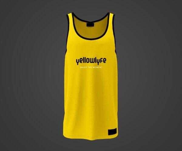 Yellow Sleeveless